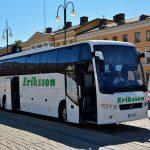 Erikssonin linja-auto tilausajoja varten